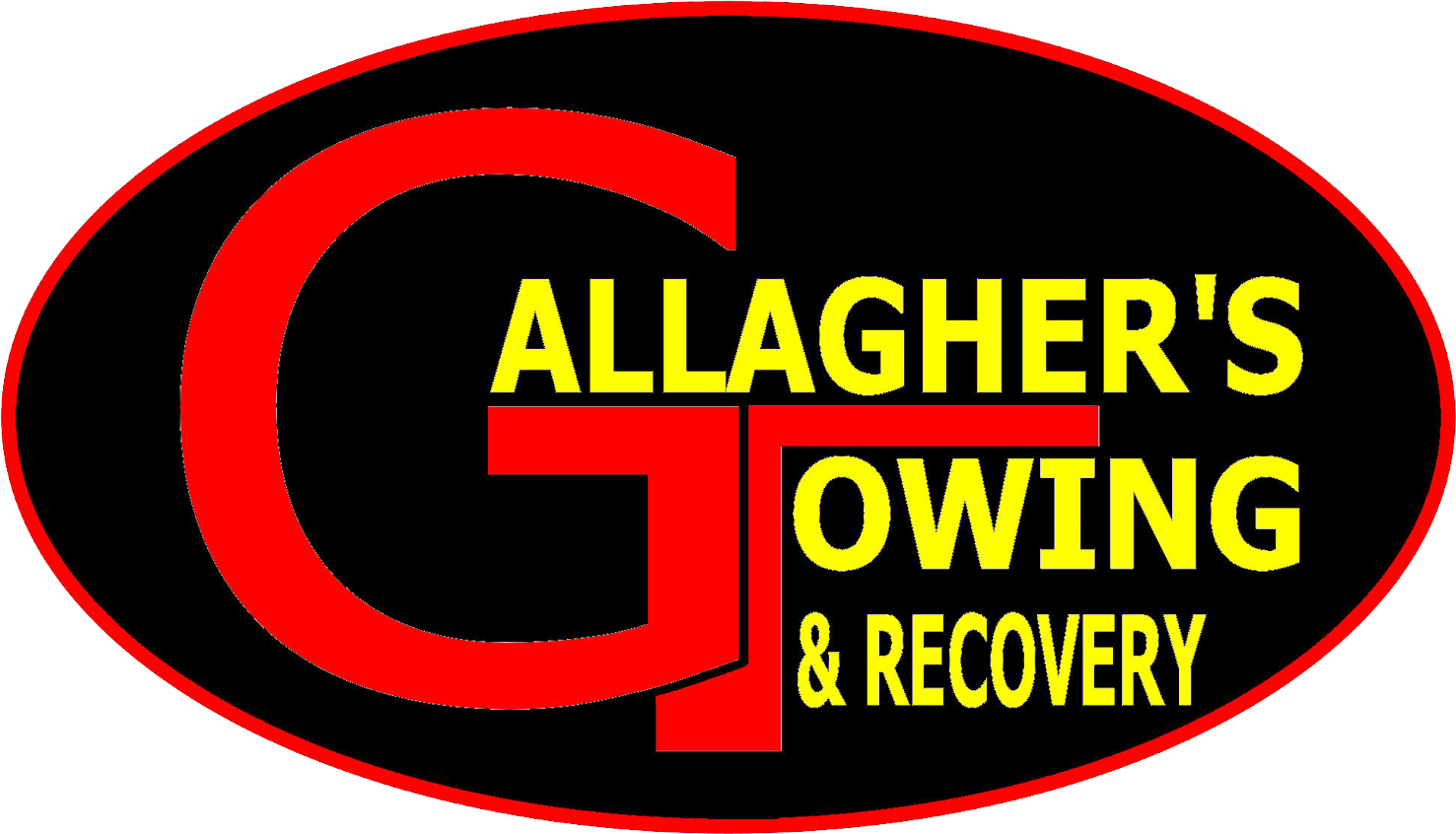 Logo  R Gallaghers Towing Inc